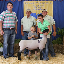 West Virginia Sheep and Goat Sale :: Champions